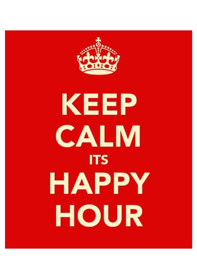 thumbnail of KEEP CALM HAPPY HOUR